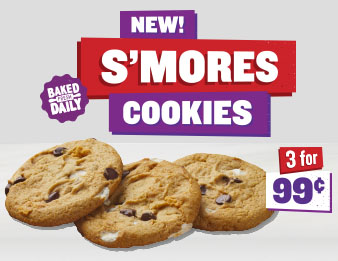 Image of Three S'mores Cookies